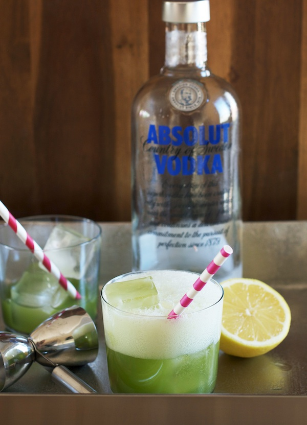 Zucchini Sea Salt Vodka Soda | Set the Table