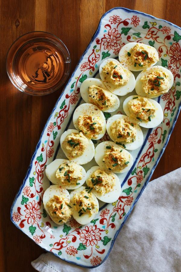 Miso Deviled Eggs Platter | Set the Table