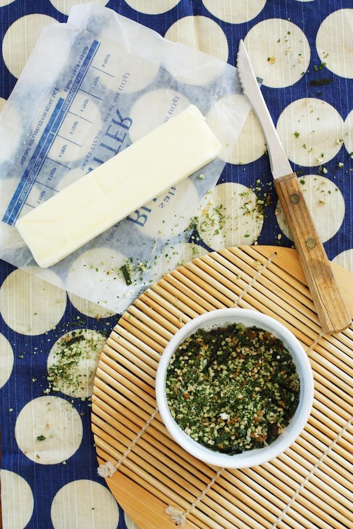 Furikake Butter Ingredients | Set the Table