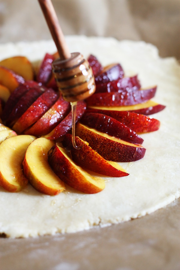 Honey Nectarine Tart | Set the Table