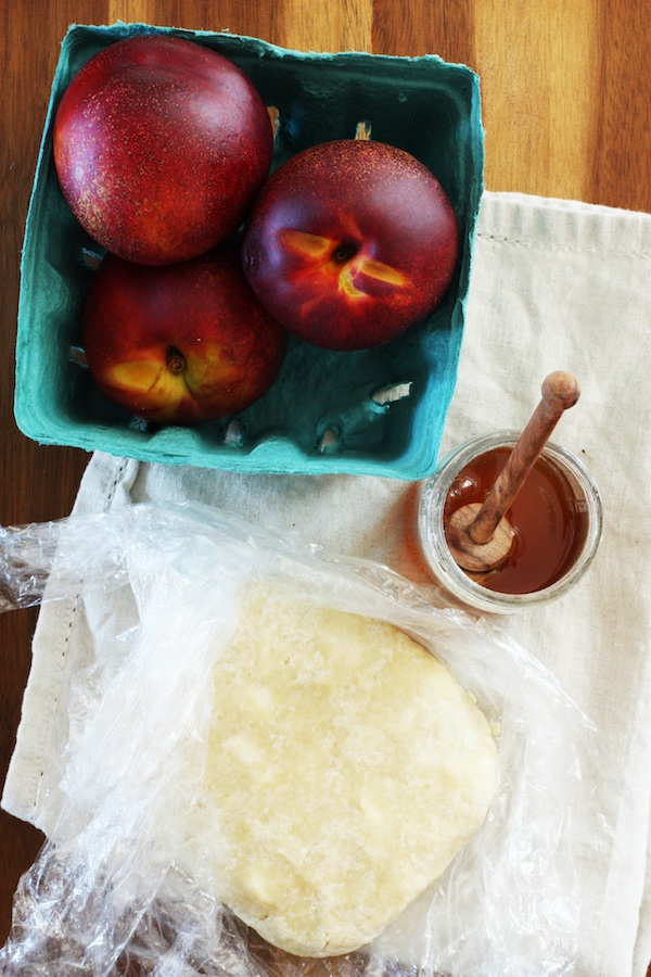 Makings of a Nectarine Tart | Set the Table