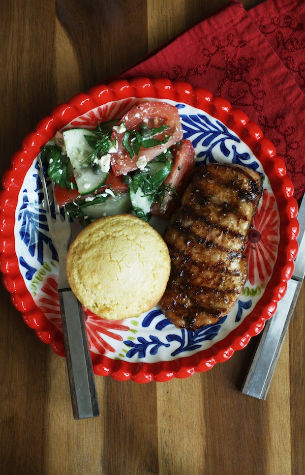 Dry Rubbed Pork Loin Chops | Set the Table