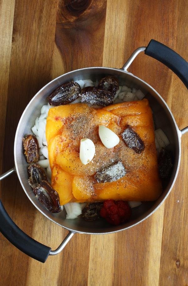 Peach BBQ Sauce Ingredients | Set the Table