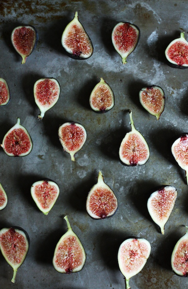 Broiled Figs with Miso Glaze | Set the Table