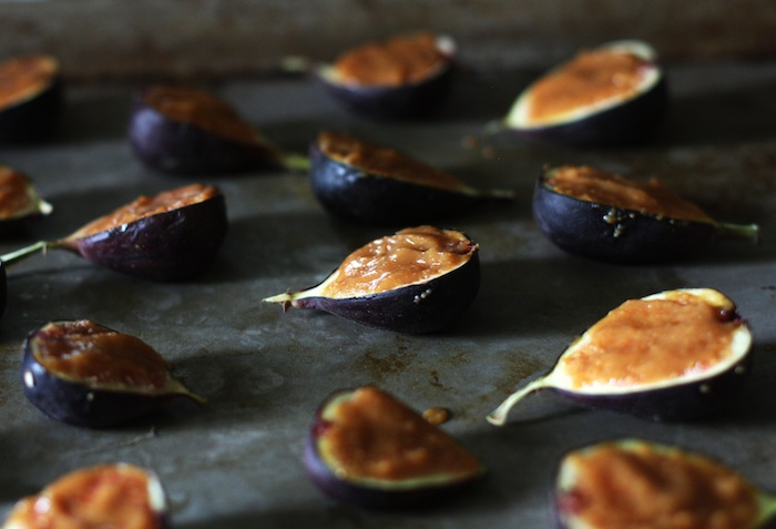 Miso Glazed Figs | Set the Table