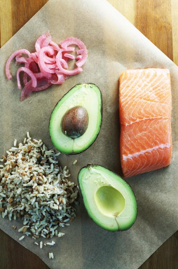 Whole Grain Salmon Bowl Recipe | Set the Table
