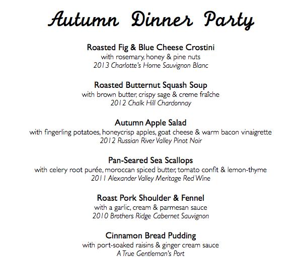 Autumn Dinner Party Men   Set the Table