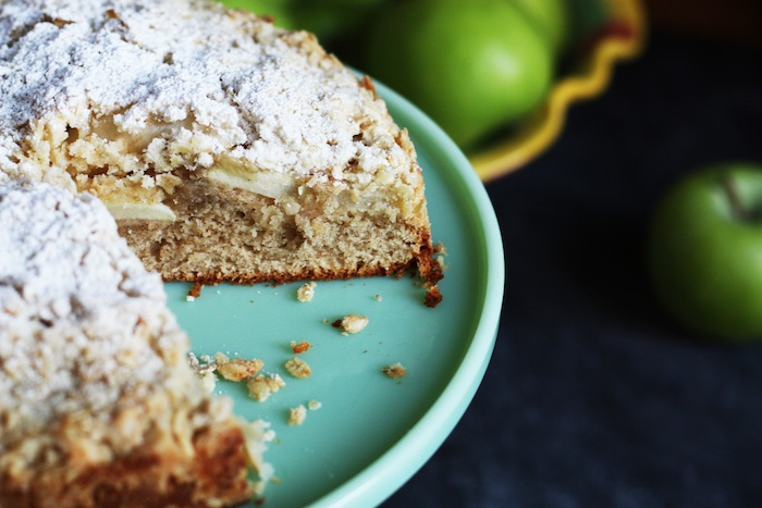 Irish Apple Cake with Streussel Topping | Set the Table