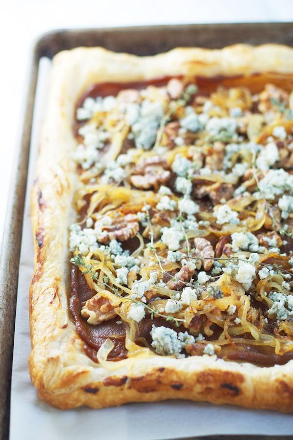Savory Pumpkin Butter Tart | Set the Table