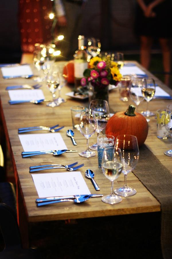 Simple Autumn Table Setting | Set the Table