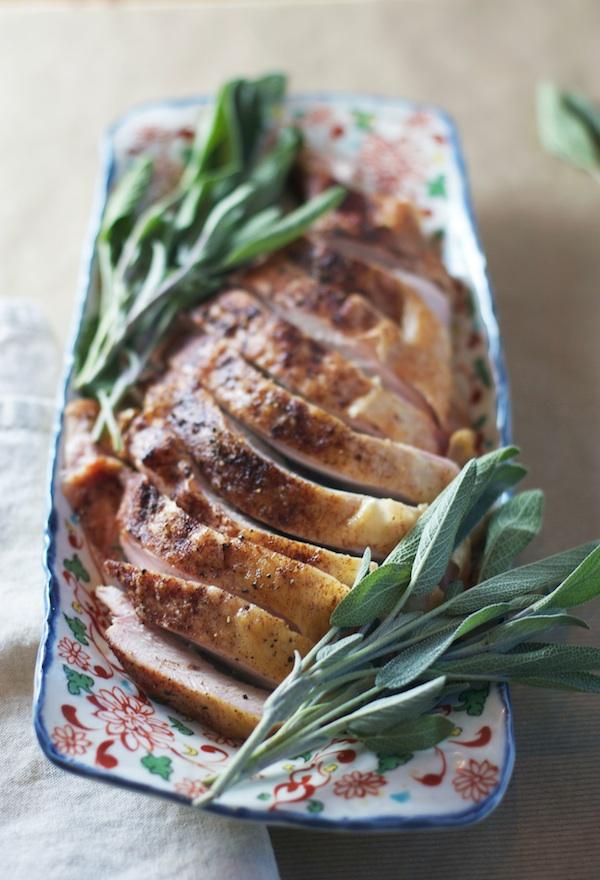 Cinnamon Roasted Turkey Breast   Set the Table