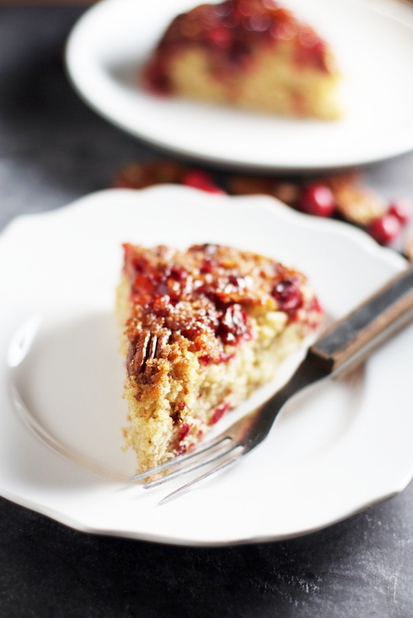 Cranberry Upside Down Cake | Set the Table