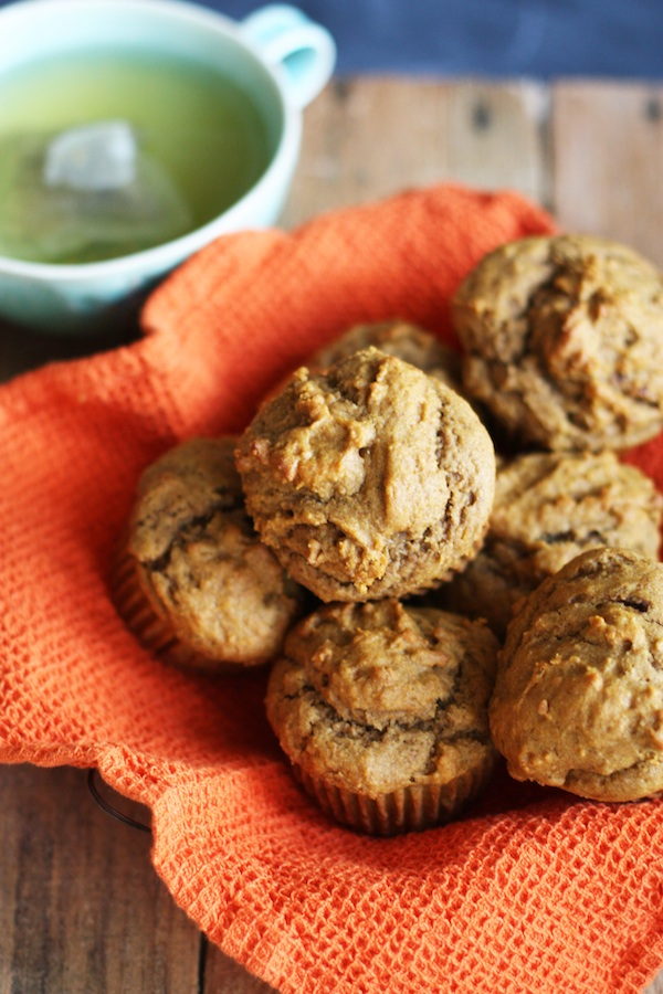 Healthy Pumpkin Muffins | Set the Table