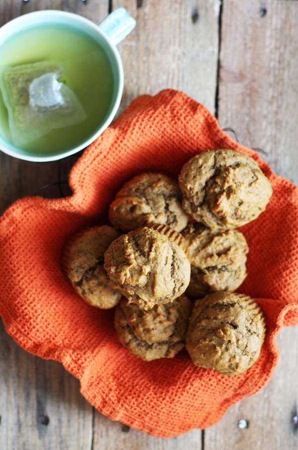 Olive Oil-Maple Pumpkin Muffins | Set the Table