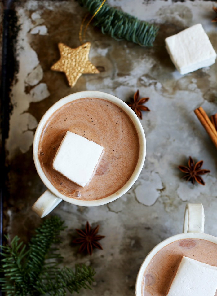 5 Spice Hot Chocolate | Set the Table