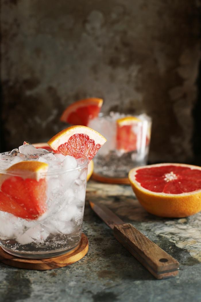 Grapefruit Vodka Soda Recipe | Set the Table
