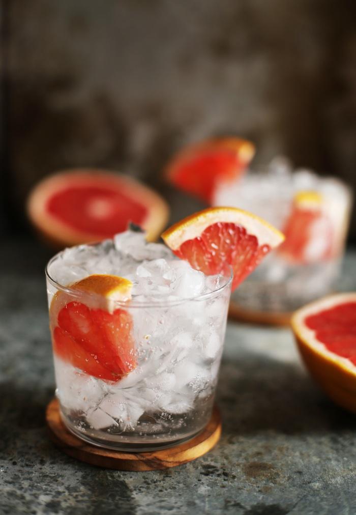 Grapefruit Vodka Soda | Set the Table