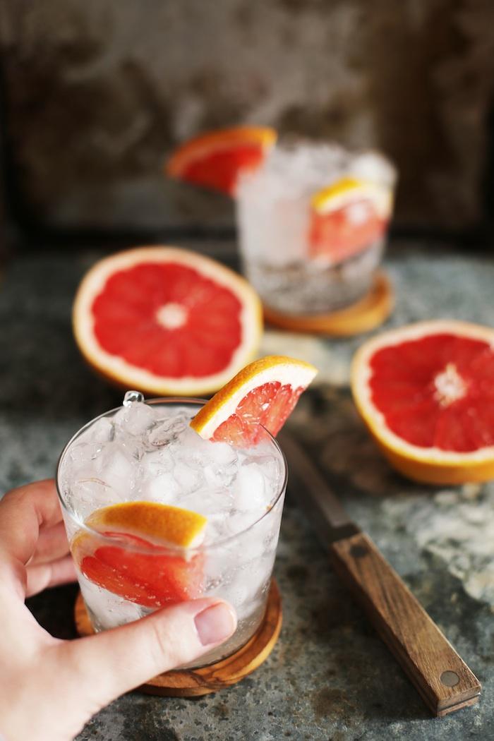Refreshing Grapefruit Vodka Soda | Set the Table