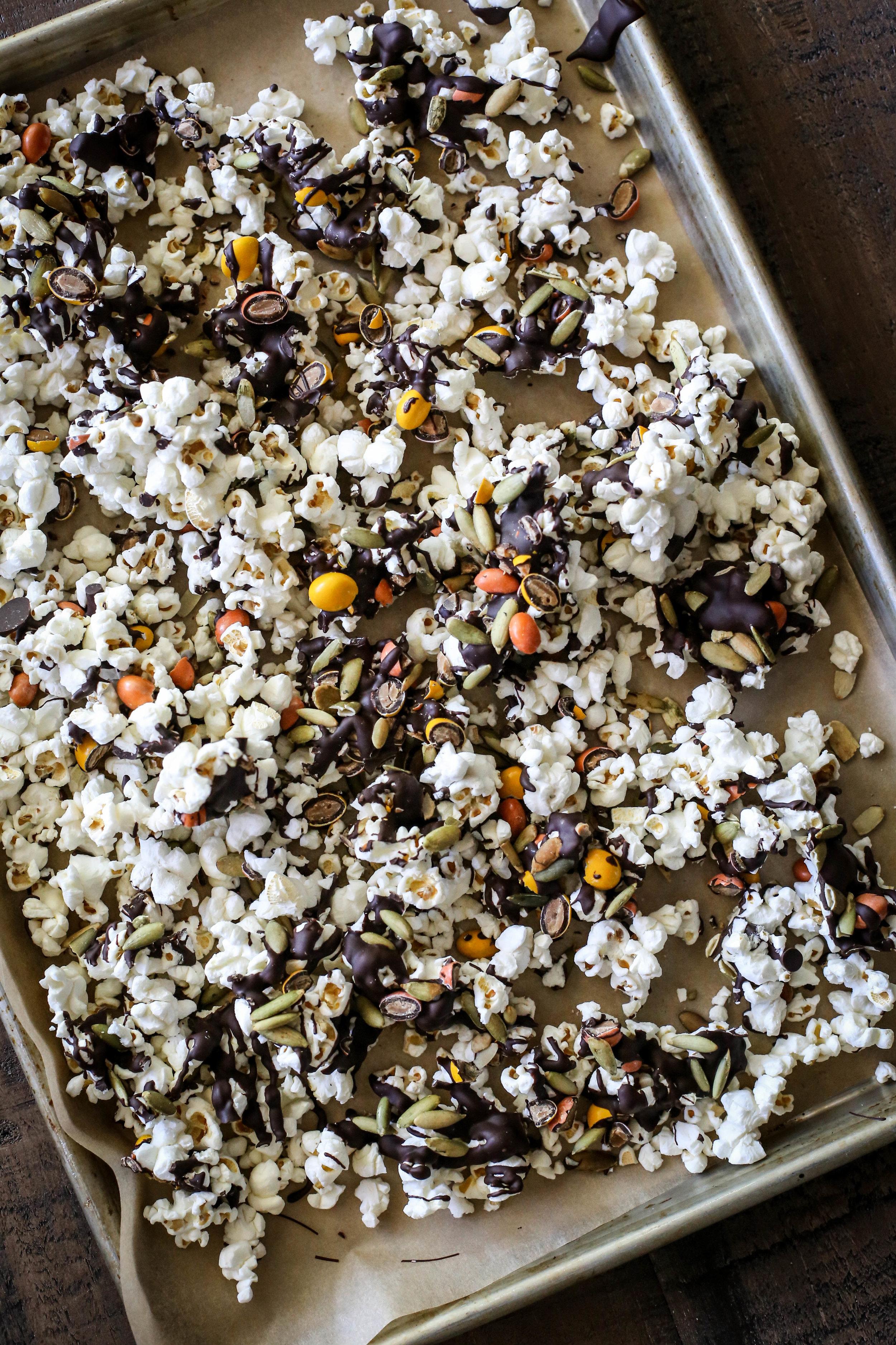 Sweet & Salty Chocolate-Peanut Butter Popcorn