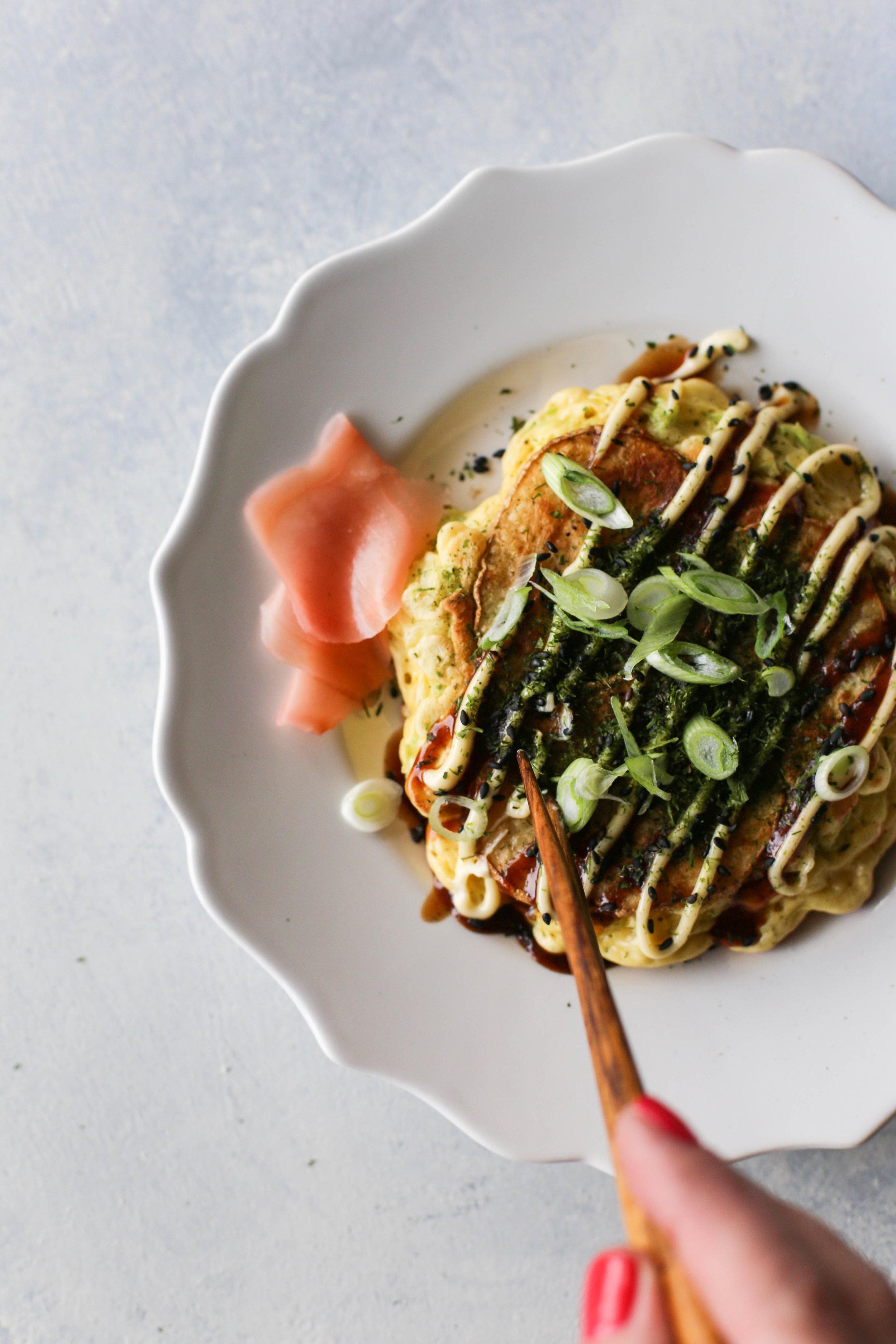 Potato Okonomiyaki Recipe