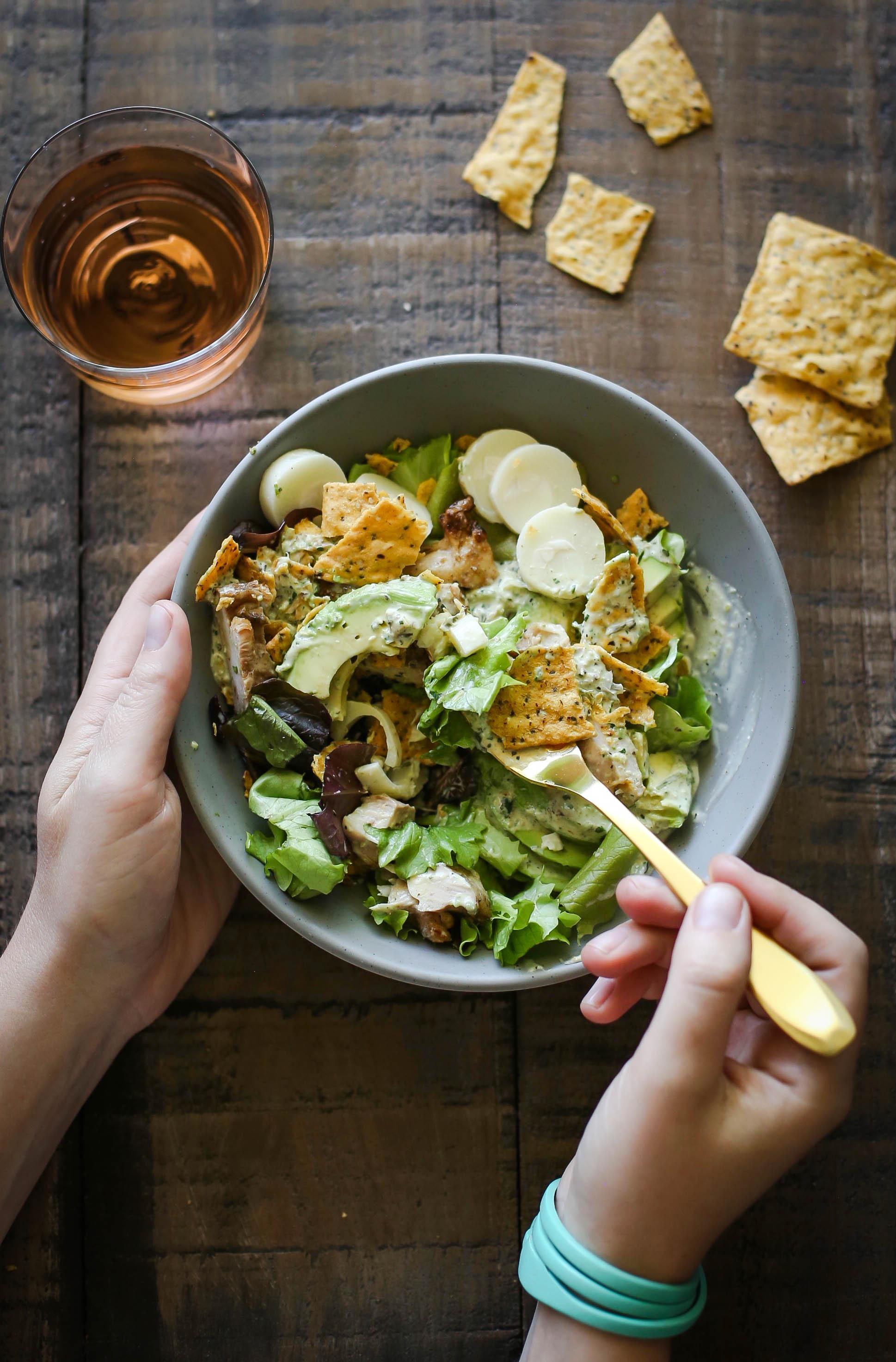Scallion Jalapeño Salad Dressing