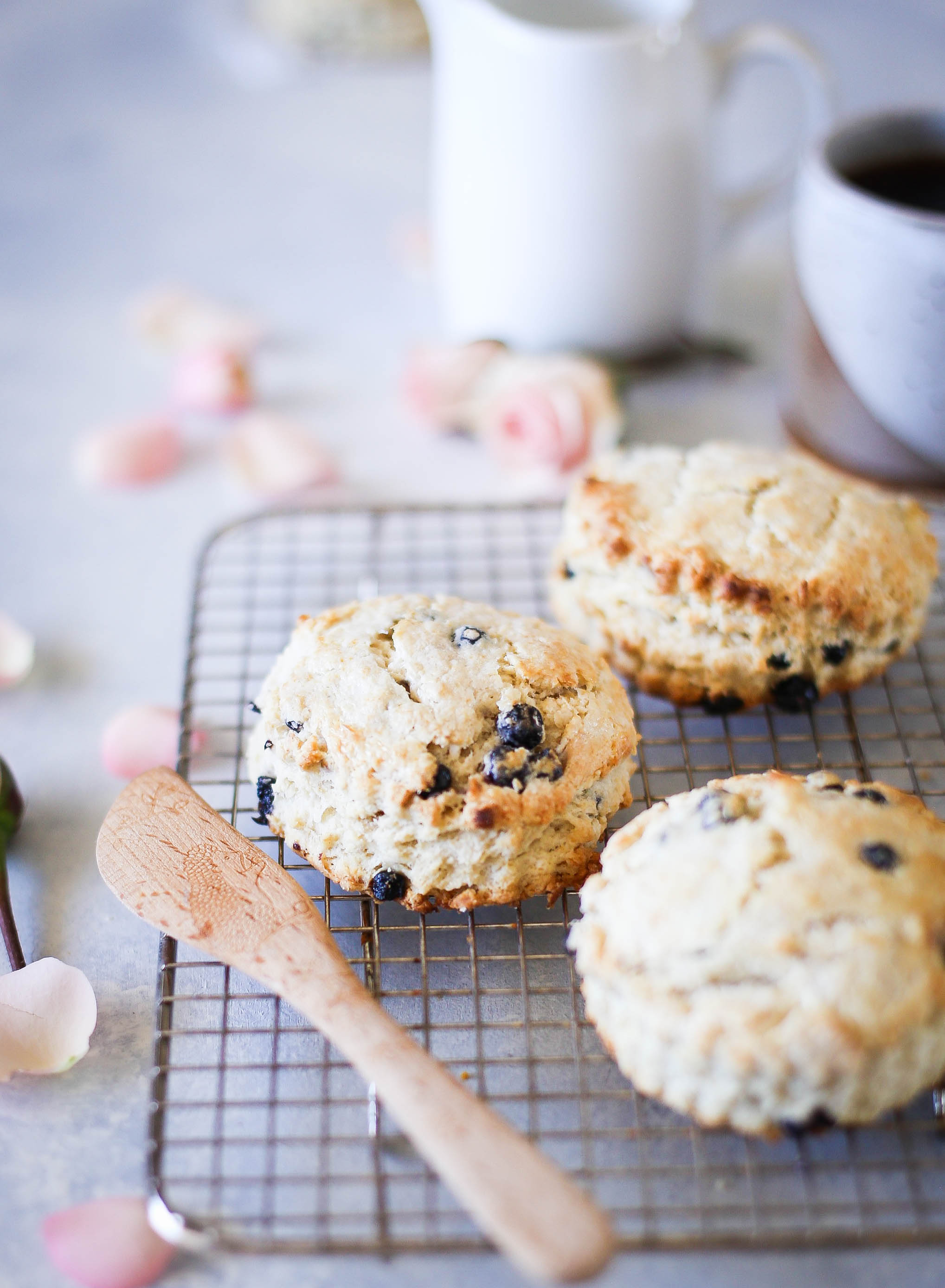 Blueberry Irish Scones | Set the Table