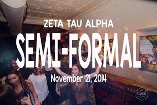 Copy of Zeta Tau Alpha Semi-Formal (11/21/2014)