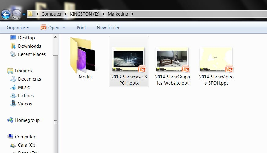 This Powerpoint file here has a total of 86 images and 13 videos embedded inside. It could potentially be a good half a day's job just to extract them out the manual way.