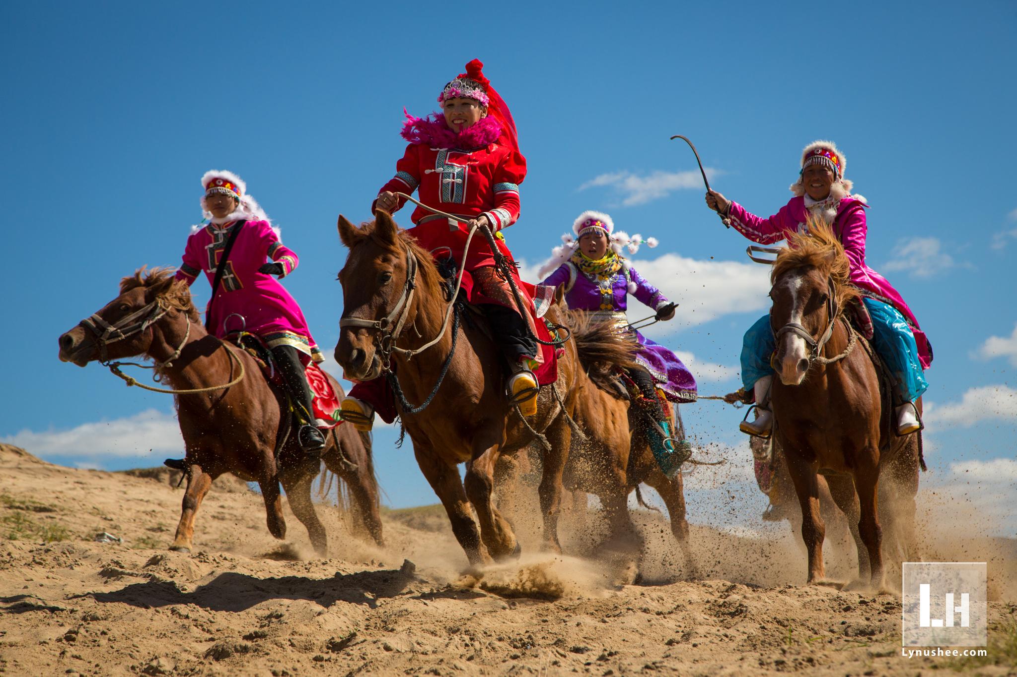 Mongolian Riders