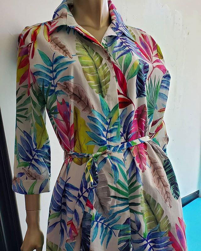 Featuring some fun and festive summer looks in our SUSANNE N. SALE like this multicolor leaf printed dress from @vilagallo_official ⁣ A super relaxed silhouette in a mid-weight cotton with a simple self tie belt makes this shirtdress an easy choice whether you're doing Sunday brunch in the city or scouting for antiques along the Delaware. ⁣ Hanging at the beach this summer? You must have this dress! ⁣ #getdressed ⁣ #vilagallo ⁣ #colorfulcottondress ⁣ #summer2019 ⁣ #sundaybrunch ⁣ #vacation ⁣ #summerwardrobe ⁣ #leafprint ⁣ ⁣ ⁣ ⁣ ⁣ ⁣ ⁣ #susannenuptown ⁣ #193bellevueavenue ⁣ #susannenfashion ⁣ #uppermontclairnj ⁣ ⁣ ⁣ ⁣ ⁣ ⁣ ⁣ #nyc #greenwich #westchester #hamptons