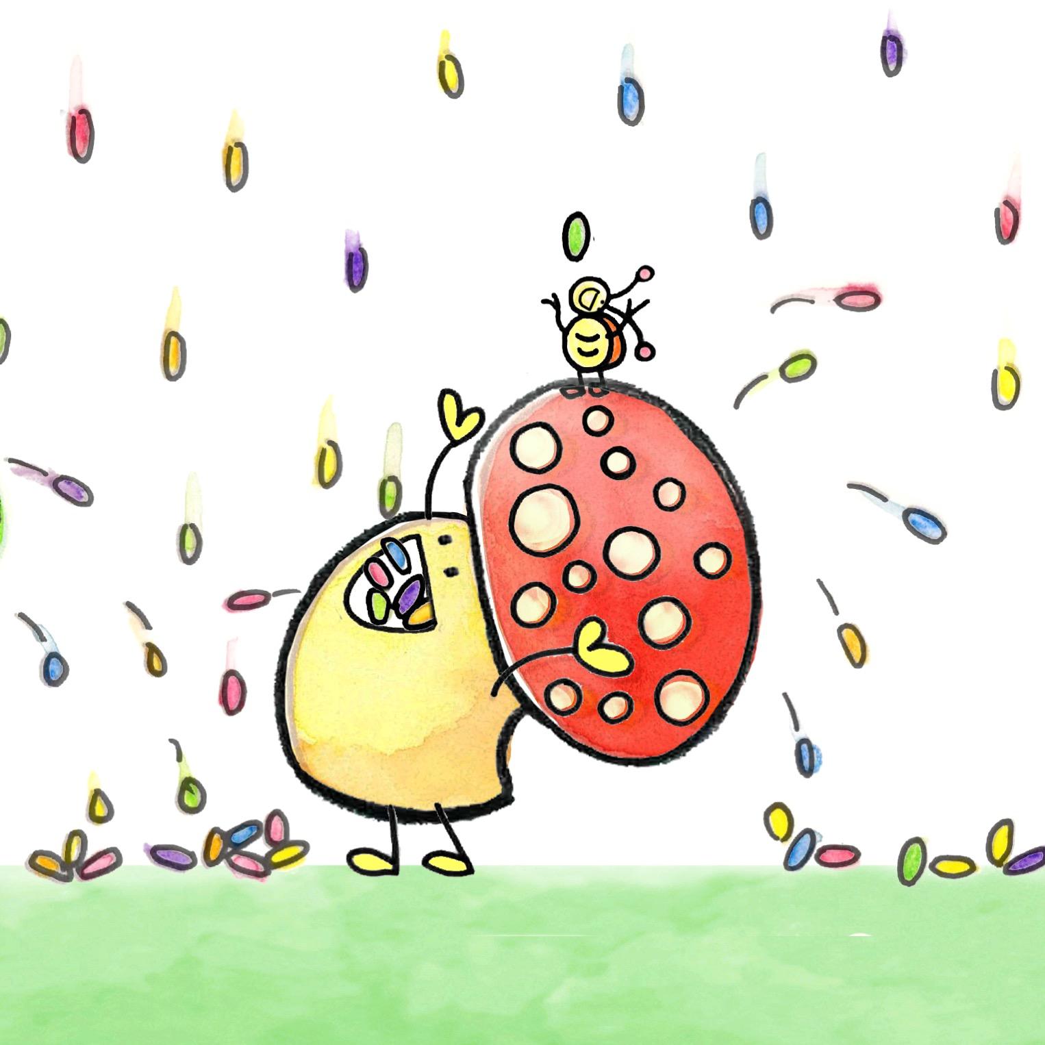 Ladybug Mushroom