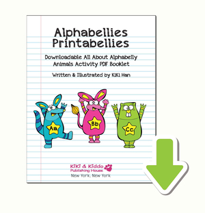 alphabellies printabellies colorbellies geekykiki kikihan missgeekykiki cutiecons+cutiecon