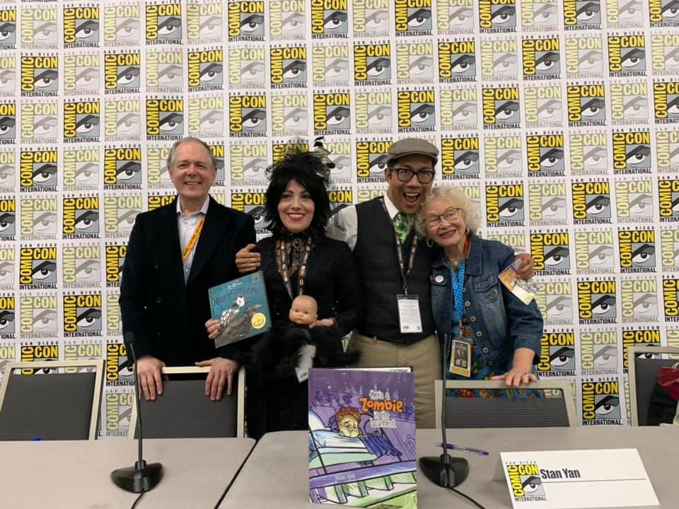 SDCC 2019 Featured Author and Panel Speaker - Debuting Mother Goth Rhymes at San Diego Comic Con 2019