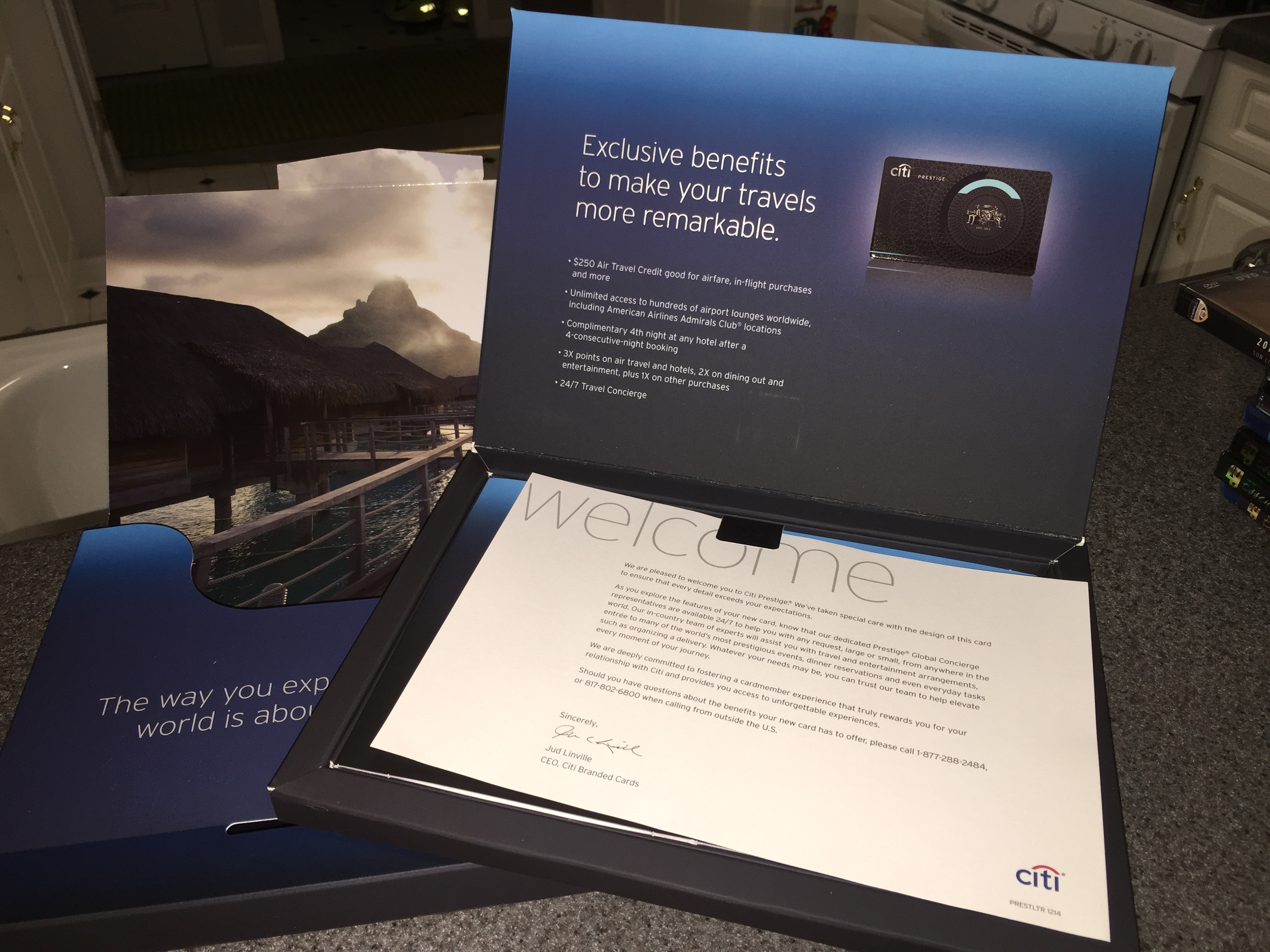 Citi Prestige Card documentation
