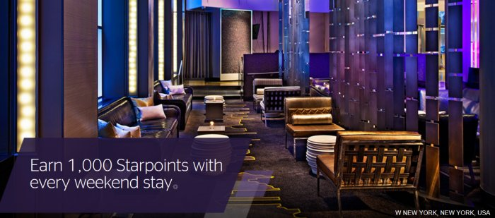 """Earn 1,000 bonus Starpoints with SPG's """"Make It Count"""" promotion!"""