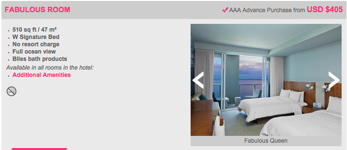 """The W Fort Lauderdale """"Fabulous"""" room offers full ocean view!"""