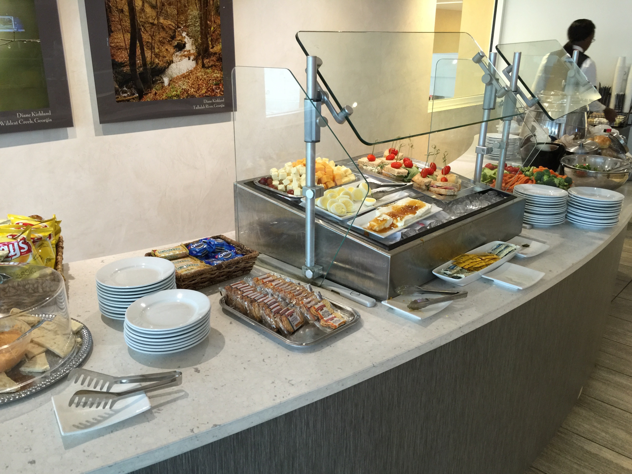 The buffet offered a variety of options