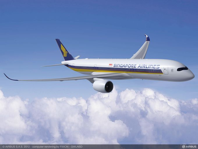 Singapore Airlines will use Airbus A350s when it resumes non-stop service from the U.S. to Singapore