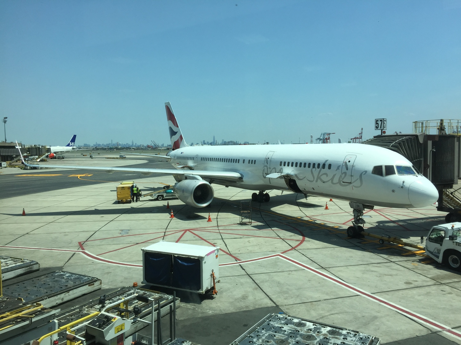 I took advantage of the AARP discount to get a great fare on OpenSkies from Newark to Paris!