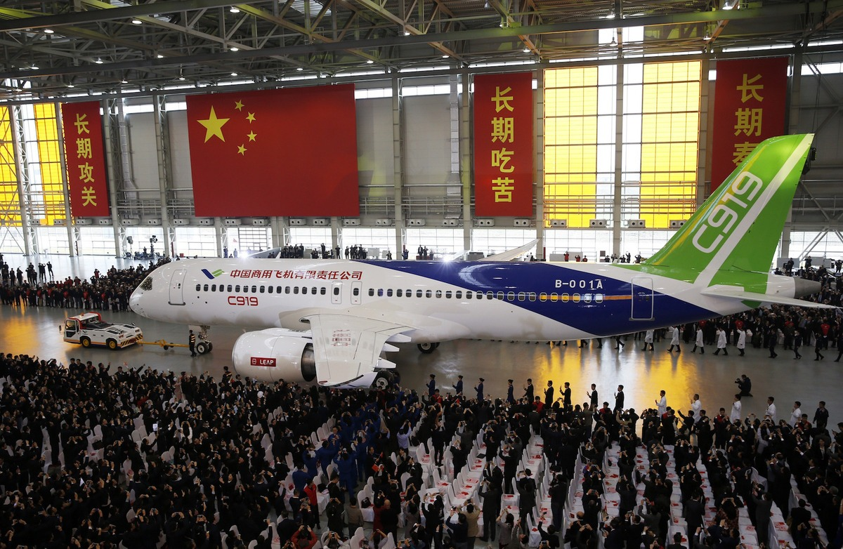 Commercial Aircraft Corporation of China (Comac) unveiled its C919 earlier this week in Shanghai