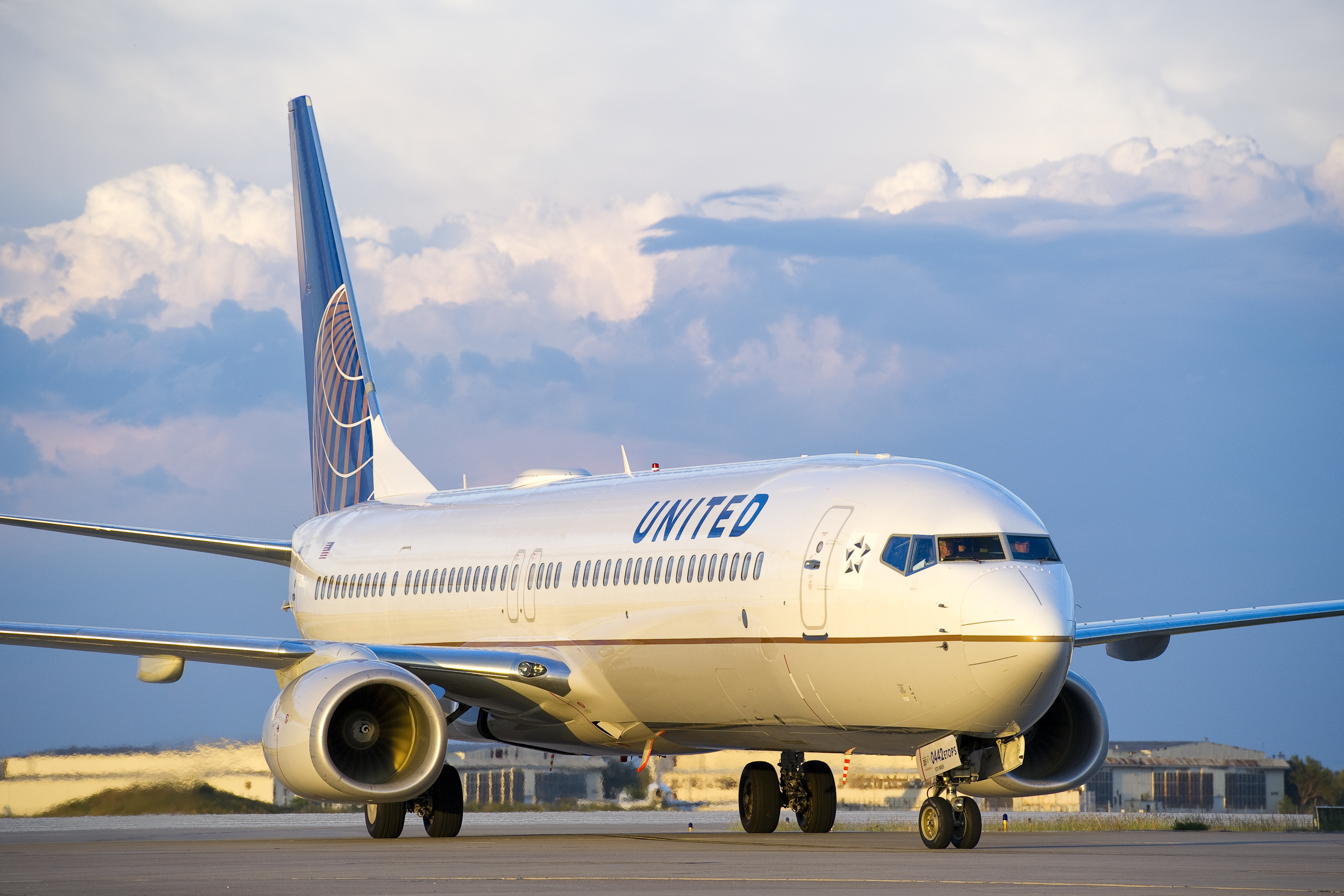 The Justice Department is challenging a United and Delta plan to swap takeoff and landing slots at Newark  (Photo: United Airlines)