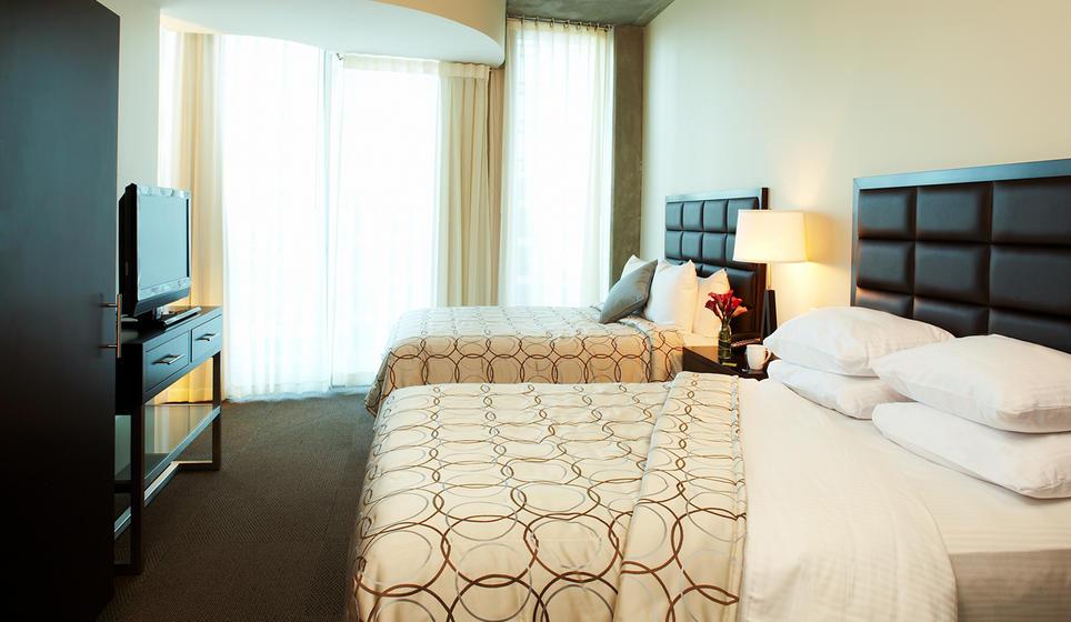 Deluxe two bedroom suite - TWELVE Centennial Park  (Photo: TWELVE Hotels)