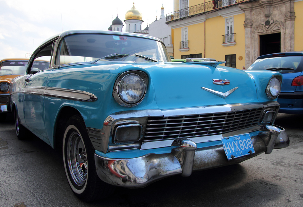 I want to visit Cuba before normalizing relations removes American classic cars from Cuban streets  (Photo:  Gerry Zambonini )