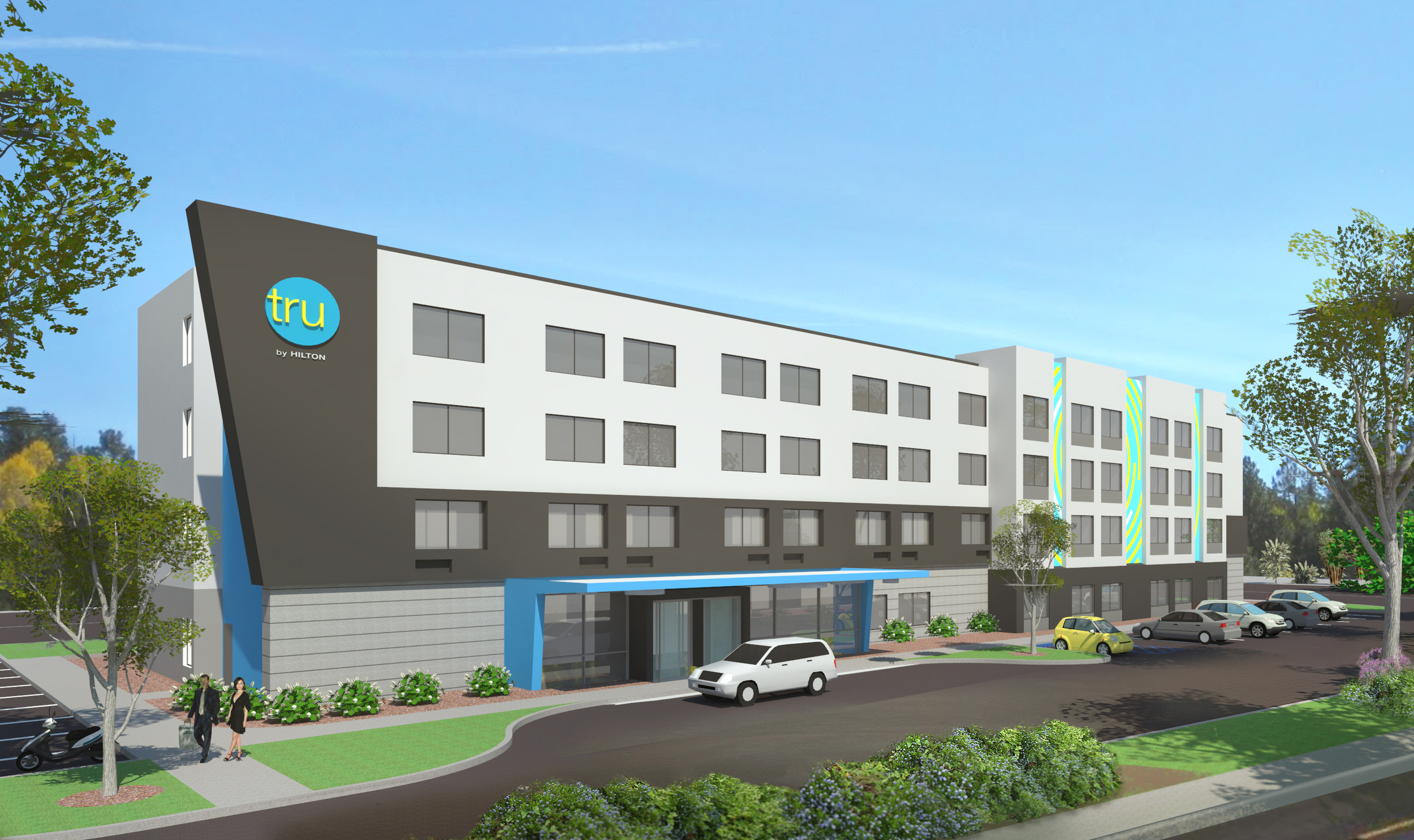 Hilton's Tru brand will launch later in 2016 and appears to be primarily targeted at millennials   (Photo  : © Hilton Worldwide)