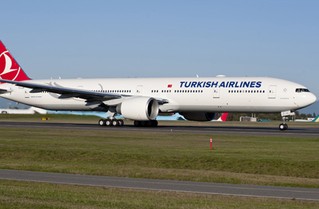 Turkish Airlines has launched Istanbul-Atlanta service using Boeing 777-300ER aircraft   (Photo Credit: Boeing)