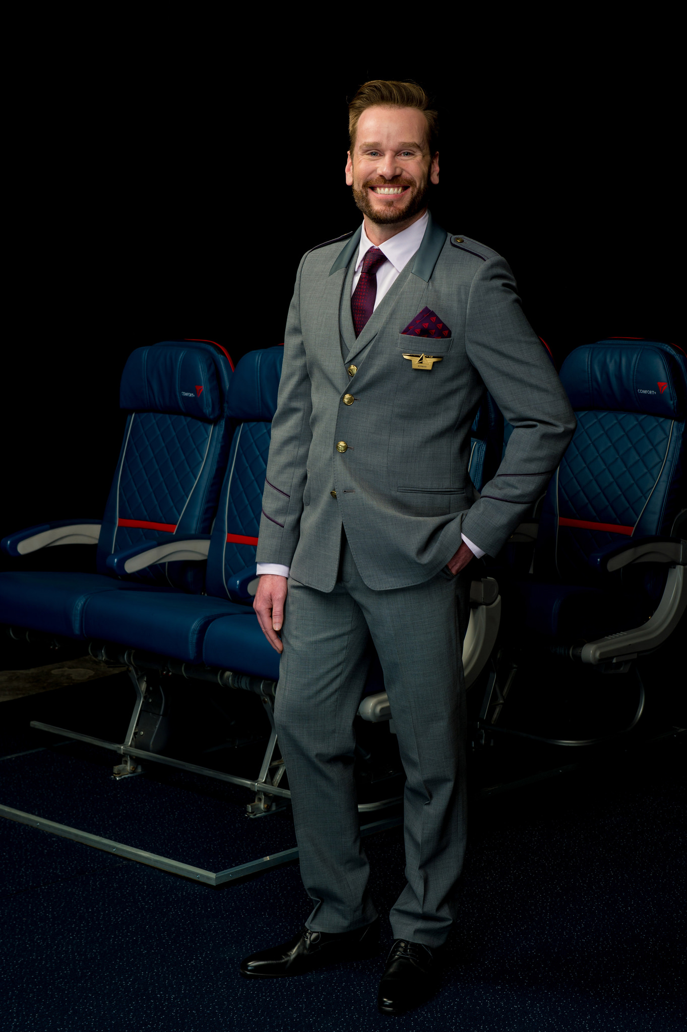 Headed to the office with a three-piece suit?  (click to enlarge)  (Phote: Delta Air Lines)