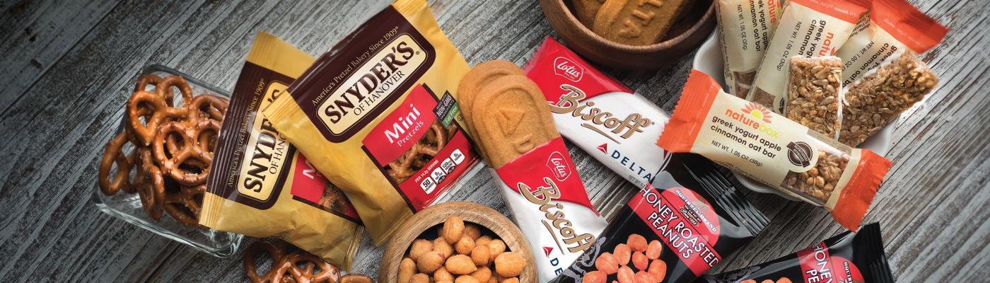 Delta will launch new in-flight snacks on December 14