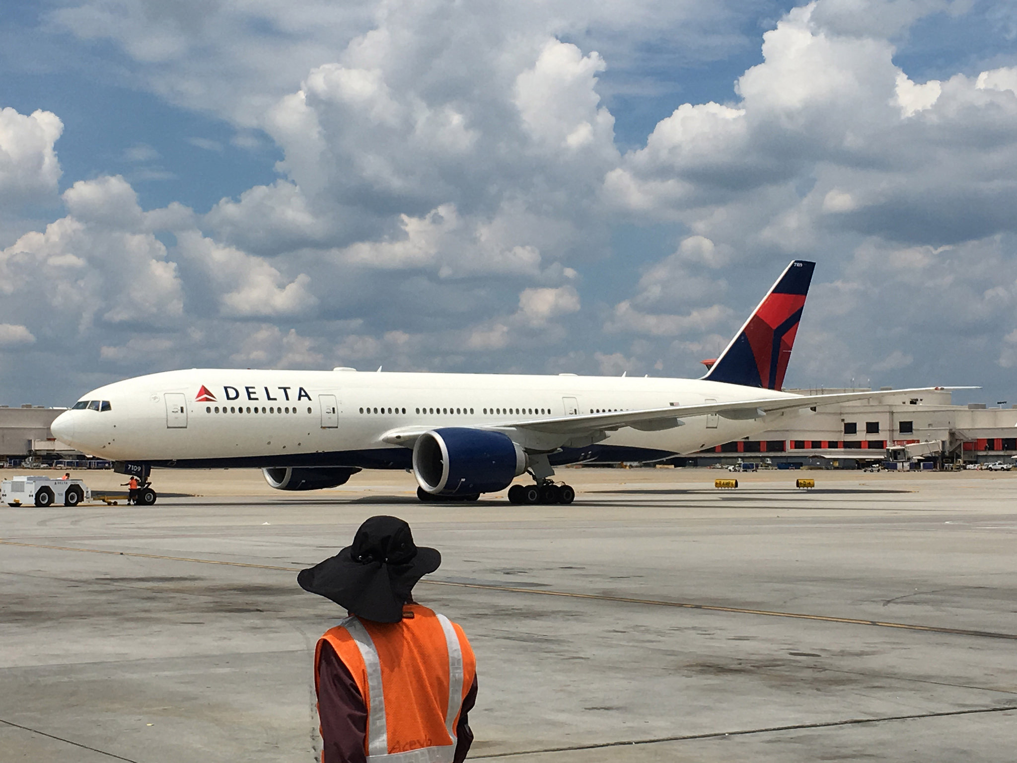 Delta operates a Boeing 777-200LR between Atlanta and Seoul   (Photo courtesy of Delta Air Lines)