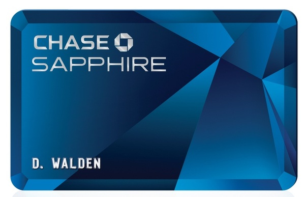 Customers can now only have one Sapphire-branded credit card
