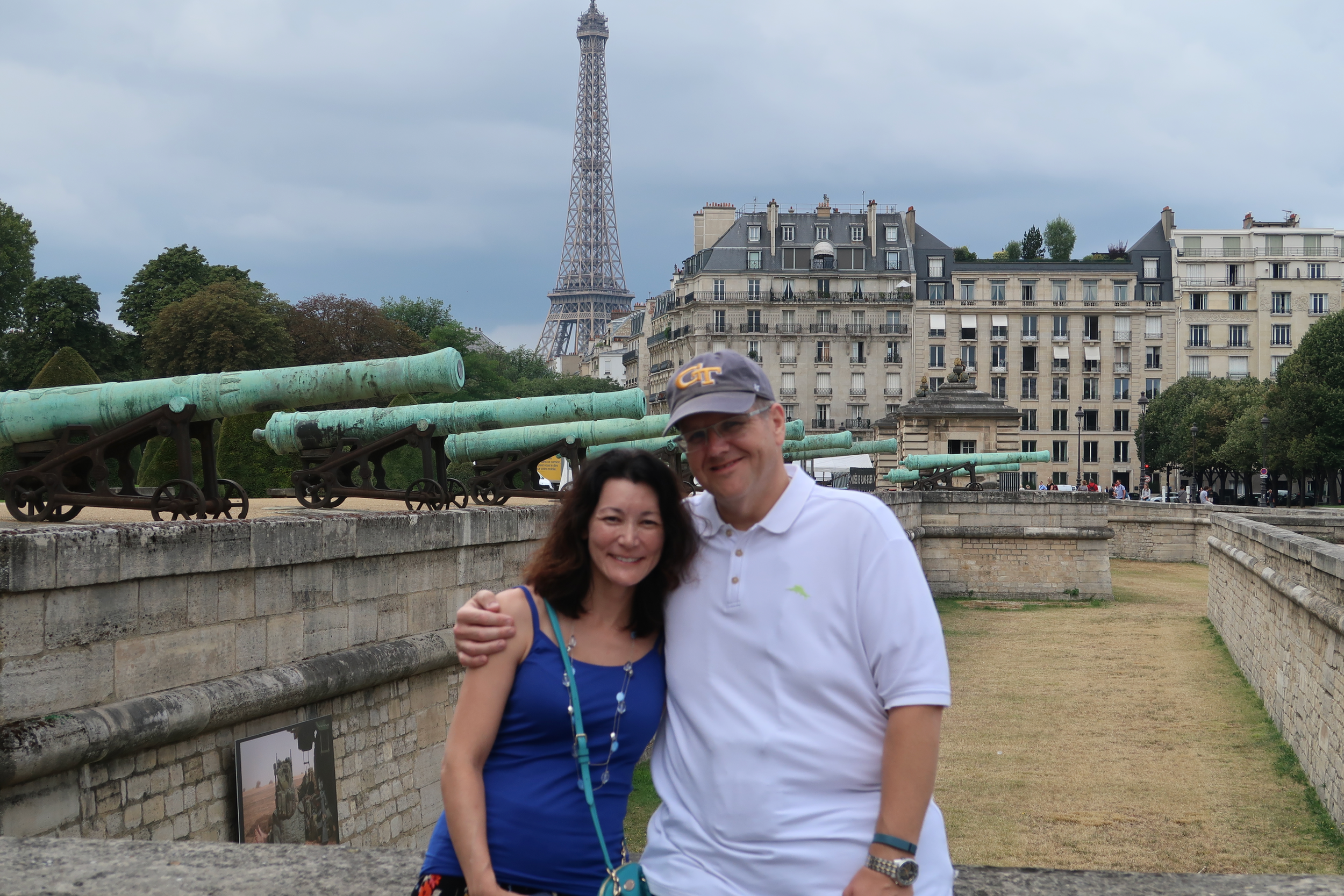 I am very blessed that my wife loves visiting Paris as much as I do.